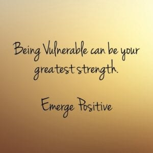 vulnerable is strength