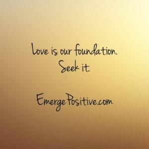Love is our foundation