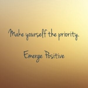 you are the priority