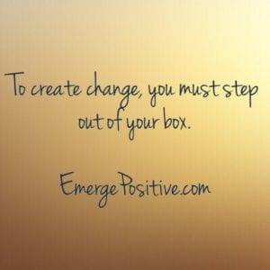step out of box