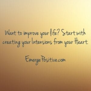 intensions from the heart