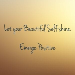 let your beautiful self shine