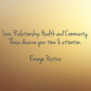 Love, Relationship, Health & Community