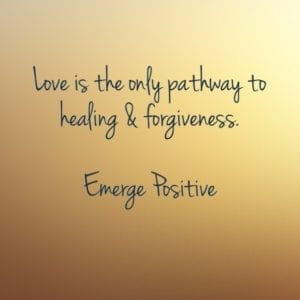 love is the pathway to healing