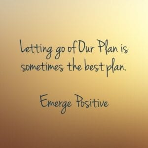 Letting of our plan