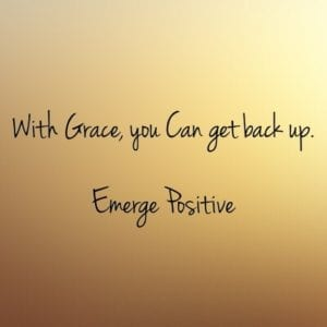 with grace you can get up