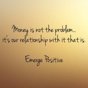 our relationship to money