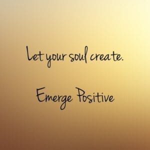 let your soul create