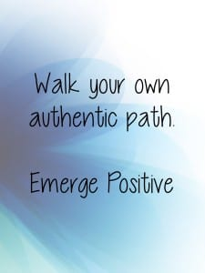 own authentic path