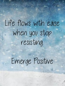 life flows with ease