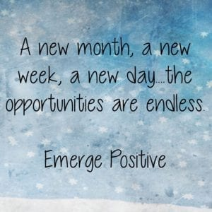 A new month