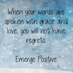 Words with grace & love