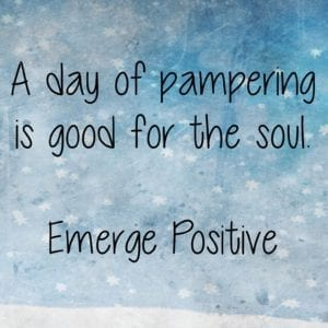 A day of pampering
