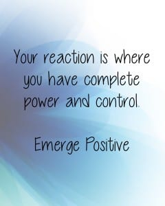 Control over reaction