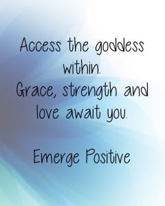 Love the goddess within