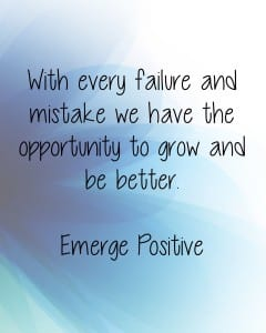 Failure is a pathway to growth