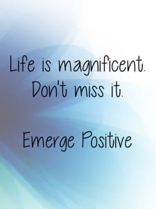 Life is magnificent