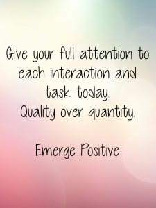 Give your full attention