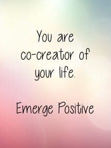 You are co-creator