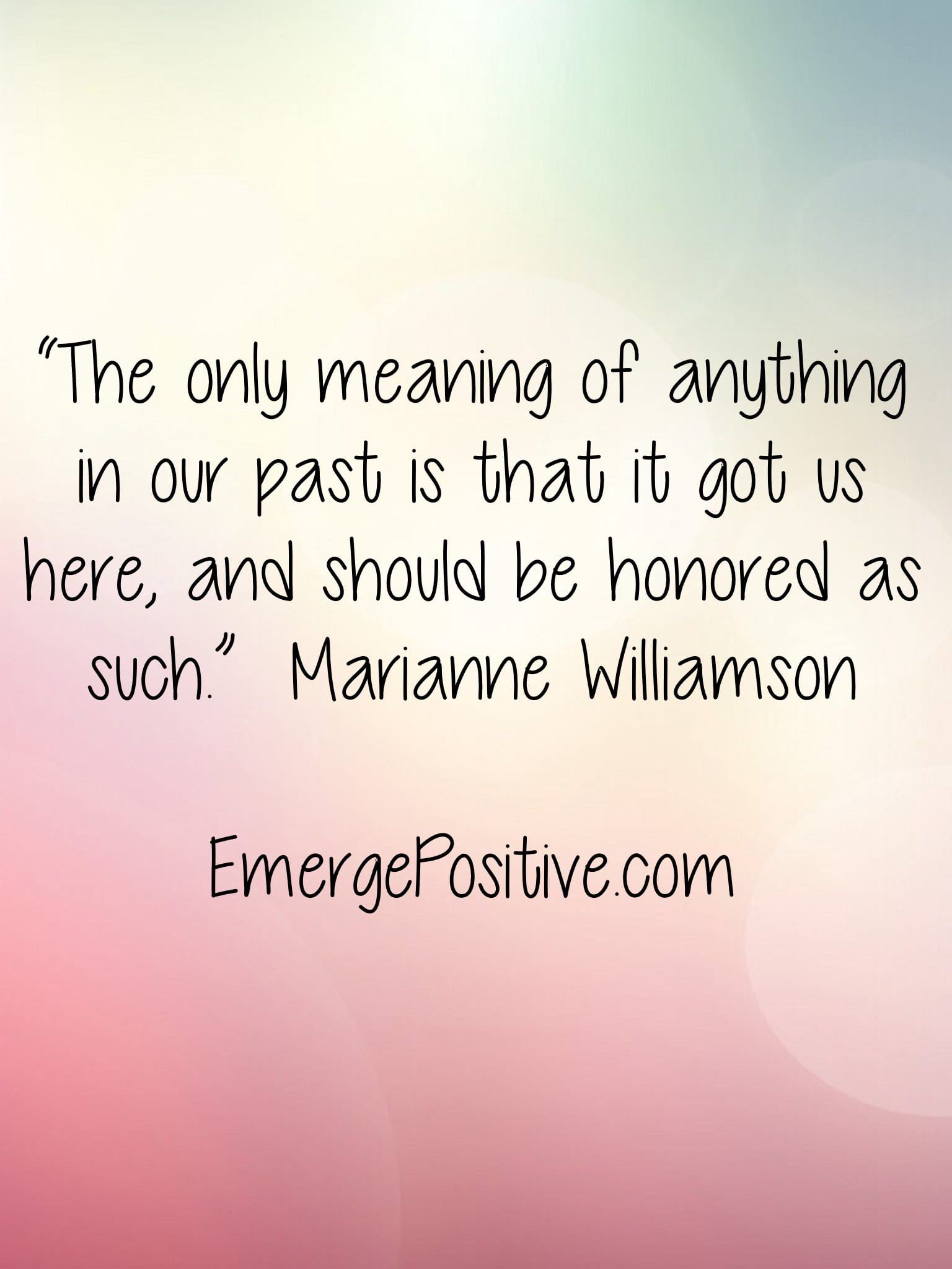 Here's the reason to stop living in the past  - Emerge Positive®