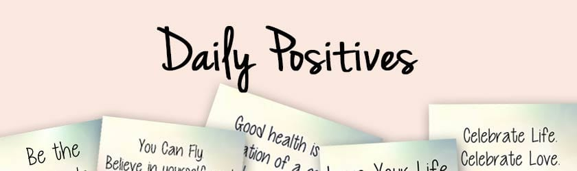 2018 Daily Positives Header